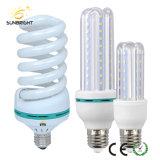 가득 차있는 나선형 에너지 절약 램프 및 LED 전구