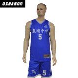 L'OEM di abitudine ha sublimato il fornitore uniforme di usura della Jersey di pallacanestro della squadra