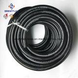 """3/16 """" ~2 """" manguito de goma liso industrial del compresor de aire de la trenza de la fibra del manguito de aire SBR Nr"""