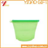 Sacchetto variopinto di memoria dell'alimento della famiglia del commestibile dell'articolo da cucina del silicone (XY-FH-161)