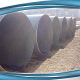 Tubulação 3PE do API 5L X70 LSAW, tubulação de aço de carbono do grande diâmetro LSAW/câmara de ar que transporta o petróleo de gás fluido do petróleo
