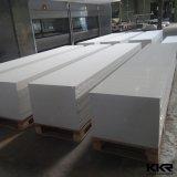Superficie solida acrilica bianca della pietra bianca pura della resina