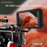 "1280X 800 4K IPSのパネル4.5 "" TFT LCD"