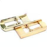 Hot Salts Metal Zinc Alloy Center Bar Buckle Pin Belt Buckle for Garment Shoes Handbags (YK974)