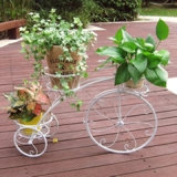 Heißer Verkaufs-Metalleisen-Fahrrad-Blumen-Pflanzer