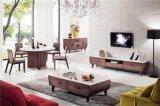 現代ファブリックコーナーのソファー、居間の家具のための小さい角のソファー、安い角のソファーの現代ソファー