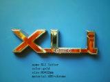 80*22mmのXli文字車の紋章のバッジ
