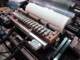 El equipo de dispensación de fusión en caliente de Cine de fusión en caliente de la máquina de laminación de recubrimiento