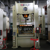 160 ton a energia mecânica lado rectilíneo única Máquina de perfuração de imprensa da manivela de estamparia de metal