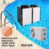 SWIMMINGPOOL-Heizsysteme des Thermostat-Heißwasser-Cop4.6 Titan