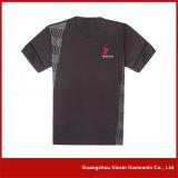 Maglietta asciutta fredda di corsa del poliestere degli uomini su ordinazione (R66)