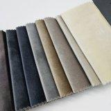 La tapicería de tejido de poliéster textil hogar cortina de terciopelo tejido sofá almohada