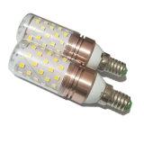 o bulbo 60 do diodo emissor de luz da luz E27 do milho 12W 5630 o grau 220V de SMD 1500lm 360 aquece o branco/branco
