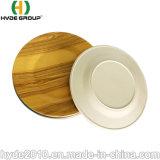 Оэс Composable Западной посуда печать логотипа дешевые бамбук меламина пластину