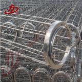 Gabbia rotonda su ordinazione industriale del sacchetto filtro della bandierina con il tubo Venturi