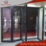 Energien-überzogene Doppelverglasung-Aluminiumfalz-Tür