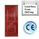 Doppeltes Blatt-Stahltür-Preis mit gutem Entwurf und guten der Qualität hergestellt in China
