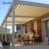 Aluminium motorisierte wasserdichte Pergola-Dach-Gartenmit luftschlitzenpergola-Installationssätze