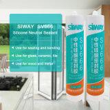 Прилипатель силикона Sealant силикона Dow Corning водоустойчивый погодостойкmNs для керамического