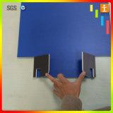 Tarjeta rotatoria de la muestra de la etiqueta engomada al aire libre del vinilo que hace publicidad de la visualización (TJ-UV12)