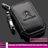 Echtes Leder 3004 Monocolour Auto-Firmenzeichen-Schlüsselfall
