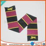 Großhandelswinter-bunter doppelseitiger strickender Fußball-Schal