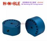 CNC die het Blauwe het Anodiseren Deel van het Aluminium van het Metaal machinaal bewerken