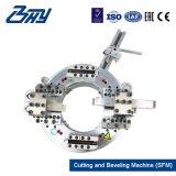 """[أد-موونتد] [بورتبل] كهربائيّة شقّ إطار/أنابيب عمليّة قطع و [بفلينغ] آلة لأنّ 2 """" - 6 """" ([60.3-168.3مّ])"""