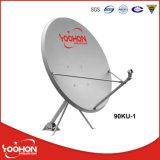 Décalage de l'antenne du récepteur de télévision de la bande Ku 90cm