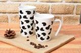 Diseño de etiquetas de vaca lechera jarra completa moda fresco cocido etiqueta personalizada con la caja de regalo