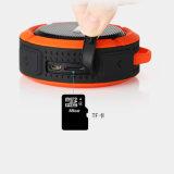 Altofalante estereofónico impermeável ao ar livre portátil do altofalante IP65 do bluetooth do esporte sem fio mini com keychain