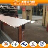 El aluminio/el aluminio/los perfiles de la protuberancia de Aluminio para resbalar/marco/toldo/fijaron/las puertas y Windows de plegamiento