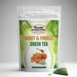 Tè verde del pomelo e del miele per uso quotidiano