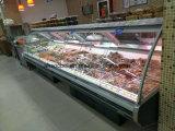 Bancada de abertura comercial servir mais usado no congelador delicatessen carnes comida fria Exibir Frigorífico caso frigorífico