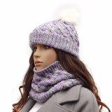冬のジャカード帽子の高品質によって編まれるかぶり物