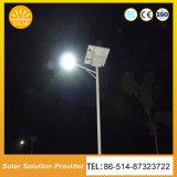 2018 luces solares del producto caliente LED con la batería en el poste