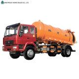 HOWO 하수 오물 진공 흡입 유조 트럭
