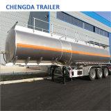 Saso certificados Adr del eje 3 42000 litros remolque cisterna de aleación de aluminio