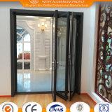 Aislamiento térmico de aluminio puerta plegable de fábrica china