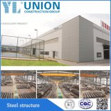 Estructura de acero prefabricados para taller/construcción/Almacén de fábrica China Estructura de acero de construcción de ISO9001