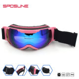 100% de protecção UV polarizada de marca de desportos de moda óculos de Snowboard