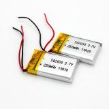 3.7V Batterij van het Polymeer van het 60mAhLithium de Ionen voor Hoofdtelefoon Bluetooth