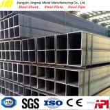 Tubo d'acciaio saldato galvanizzato tuffato quadrato/rettangolare/tubo caldo/sezione vuota