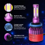 фара СИД H4 высокоскоростного охлаждающего вентилятора 8000lm супер яркая