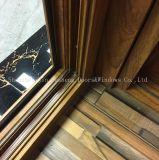 خشبيّة حبة حرارة إنتقال ألومنيوم قطاع جانبيّ [سليد دوور] زجاجيّة