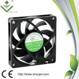 Охлаждающий вентилятор DC осевого вентилятора вентилятора DC пластмассы высокого числа оборотов PBT осевым защищенный импедансом солнечный