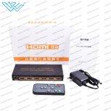5 audio audio interruttore Port dello scambista 4K di Hdr HDMI tramite telecomando di IR