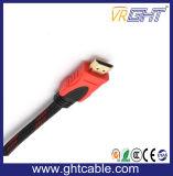 cavo di alta qualità HDMI di 25m con intrecciatura di nylon 1.4V (D001A)