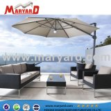 Último diseño Sofá Junco Maryard transversal exterior Rattan /Sofá mimbre muebles