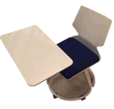 2017 Diseño moderno, cómodo formación colorida Silla de oficina